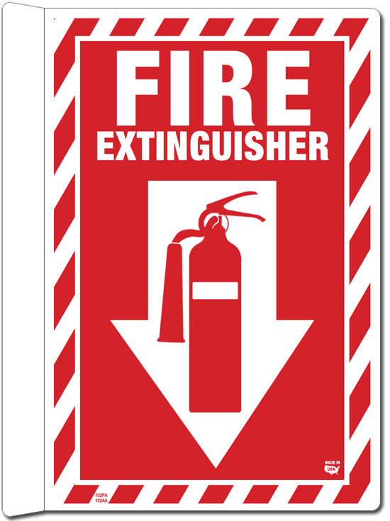 Crafty image pertaining to printable fire extinguisher signs